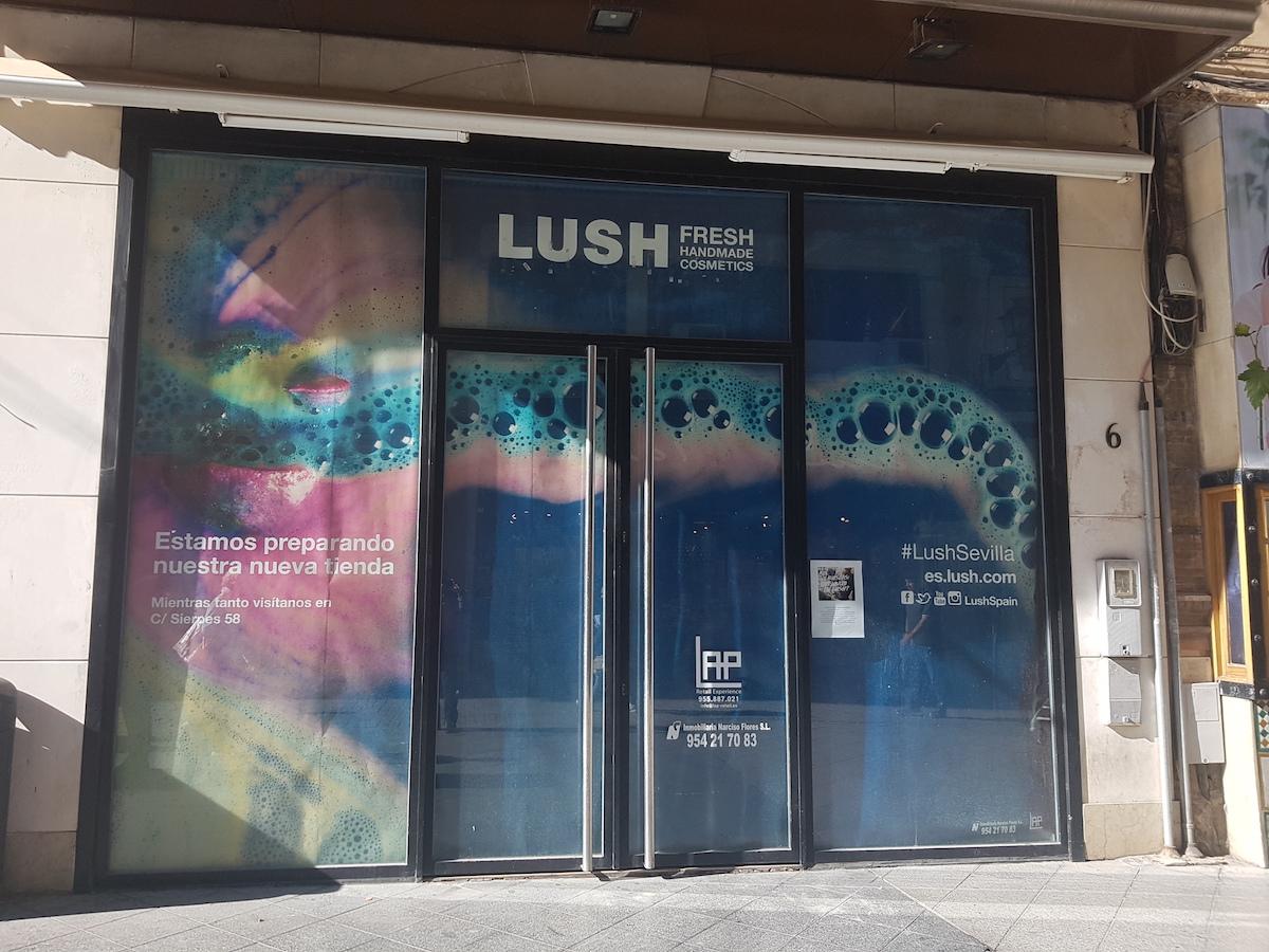 LAP Retail asesora a Lush Cosmetics en su nueva tienda en Sevilla